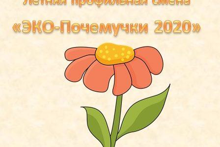 Расписание занятий летней профильной смены «ЭКО-Почемучки 2020» на 8-11 июня